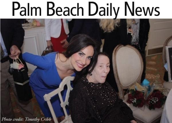 Palm Beach Daily News: Alzheimer's Community Care Keynote Speaker (2019)