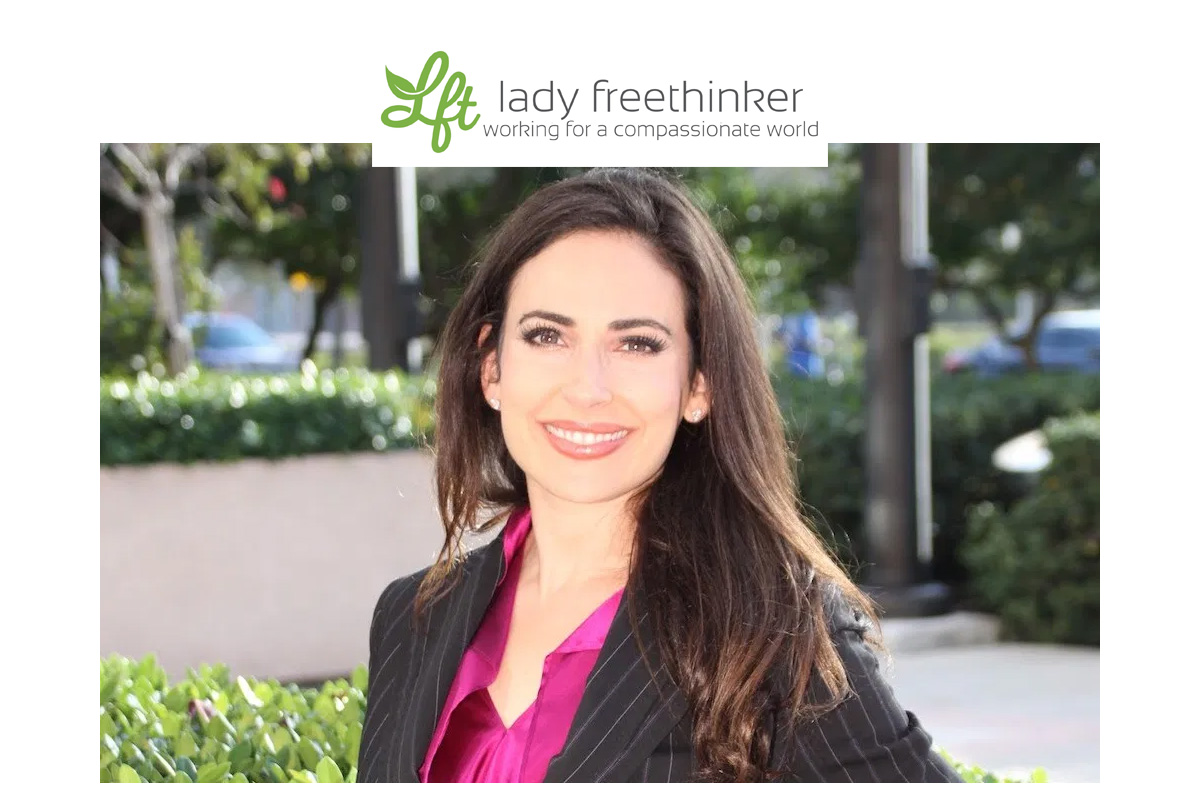 Lady Freethinker : Interview with Carissa Kranz. Lawyer, Activist and Founder of BeVeg Vegan Certification