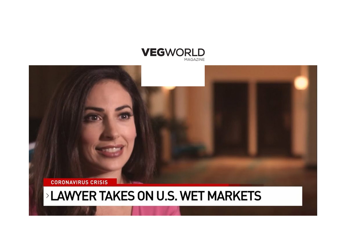 VegWorld Magazine: Vegan Attorney Petitions New York To Shut Down And Ban All Live Animal Wet Markets