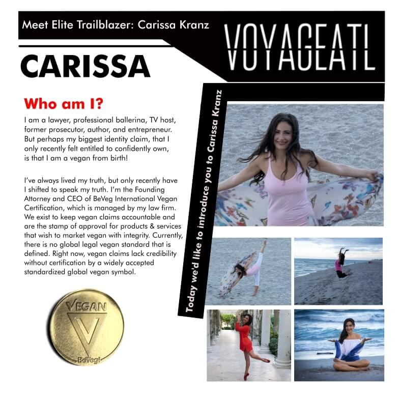 VoyageATL Magazine: Meet Elite Trailblazer – Life and Work with Carissa Kranz