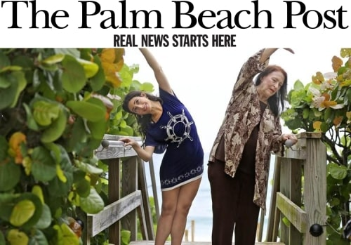 Palm Beach Post: Feature Story on Cover and in Accent (2015)