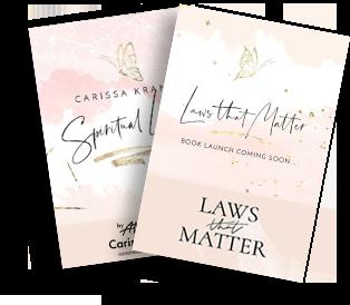 Carissa Kranz Book; Laws That Matter
