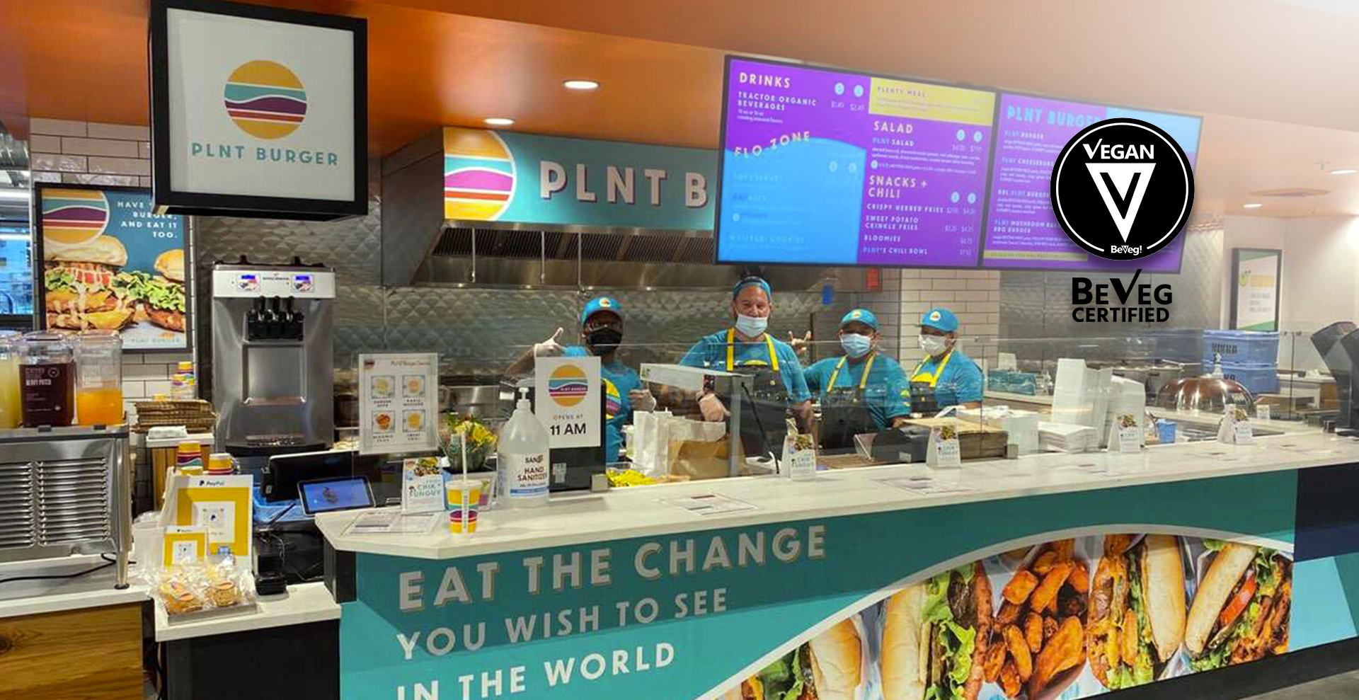 JANE UNCHAINED NEWS: PLNT BURGER'S 7TH STORE OPENING IN WHOLE FOODS, VEGAN CERTIFIED BY BEVEG
