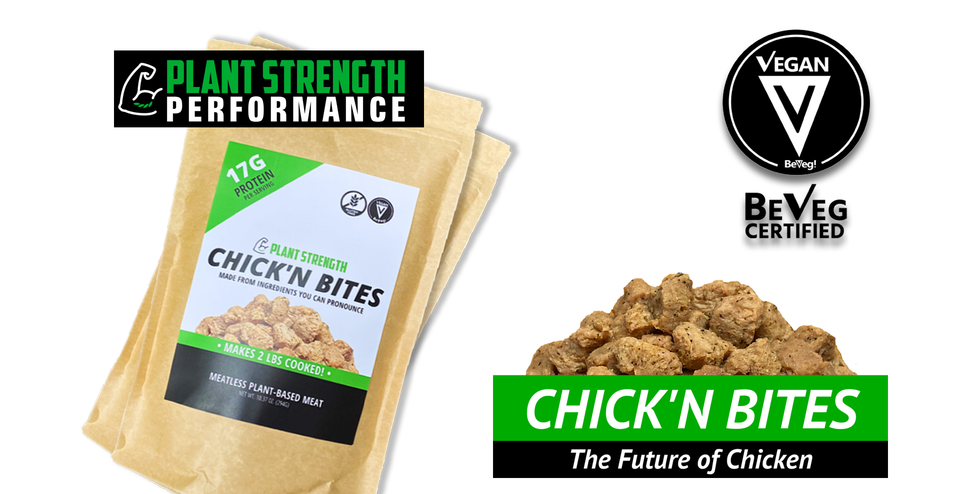 JANE UNCHAINED NEWS: Chick'n Bites Announces Vegan Certification with Beveg!